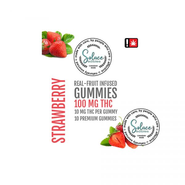 Solace Edibles – Real Fruit Infused Gummies
