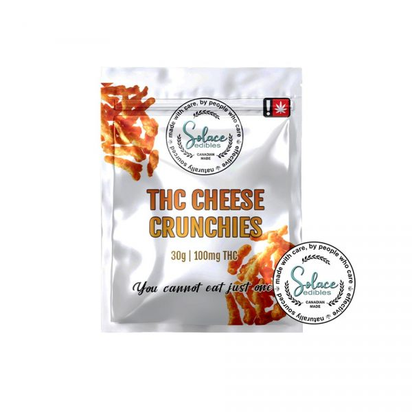 Solace Edibles THC Cheese Crunchies